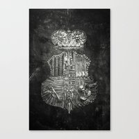 Once Were Warriors Canvas Print