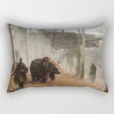 1920 - into the wild Rectangular Pillow