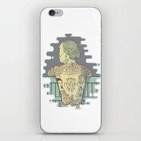Pára De Pensar Nela iPhone & iPod Skin
