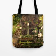 Tote Bag featuring I`m Living On A Farm by Andreas Wemmje