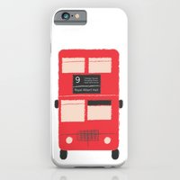 iPhone & iPod Case featuring Red Double Decker Bus  by Corrie Jacobs