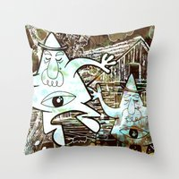 Taken With Instagram Throw Pillow