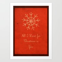For Christmas! Art Print