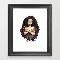 Leaf Hopper Friends Framed Art Print