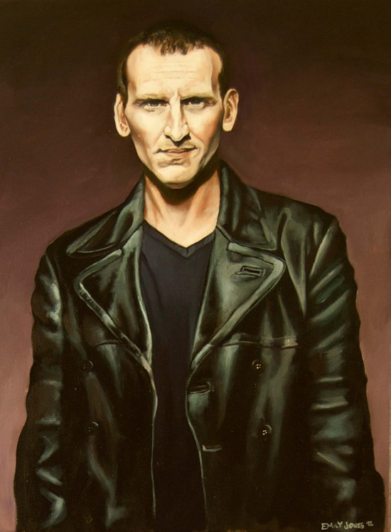 The Ninth Doctor Art Print