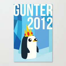 Gunter for Ice King 2012! Canvas Print