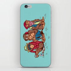 Three Wise Hipster Monkeys iPhone & iPod Skin