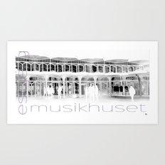 Musikhuset Esbjerg  Art Print