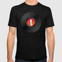 Off the Record Mens Fitted Tee Tri-Black SMALL