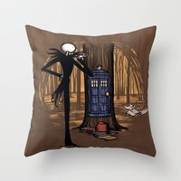 What's This? What's This? Throw Pillow