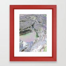 Chromascape 8 (Watkins Glen) Framed Art Print