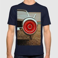 Thunderbird Details Mens Fitted Tee Navy SMALL