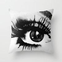 Locked inside Throw Pillow