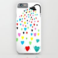 iPhone & iPod Case featuring Love shower by Villaraco