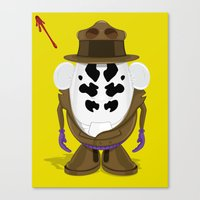 Mr Potato R. Canvas Print