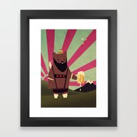 I could go for a Twinkie! Framed Art Print