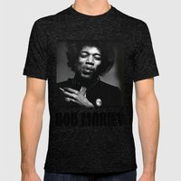 Famous musician Mens Fitted Tee Tri-Black SMALL