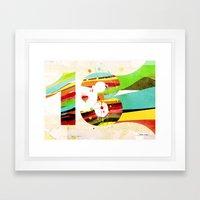 13 Framed Art Print