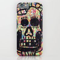 iPhone & iPod Case featuring Skull by Lisa Brown Gallery