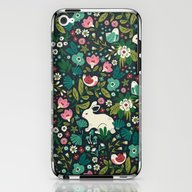 iPhone & iPod Skin featuring Forest Friends by Anna Deegan