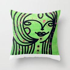 Limonada Throw Pillow