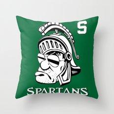 The Spartans Throw Pillow