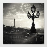 Mysterious Paris Canvas Print