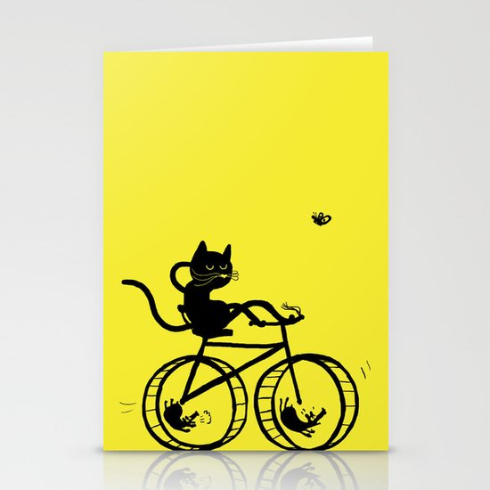 Slaved mouses Stationery Card