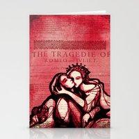 Romeo & Juliet - Shakespeare Folio Illustration Art Stationery Cards