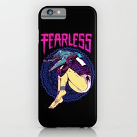 iPhone Cases featuring FEARLESS by Lokhaan