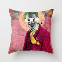 What Are You Laughin' At… Throw Pillow