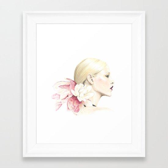 Talauma Framed Art Print