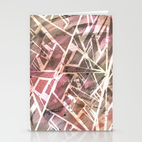 Shattered Stationery Card