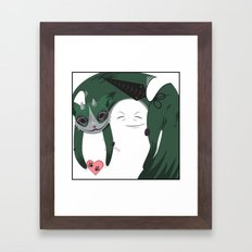 I GIVE YOU MOBILITY. Framed Art Print