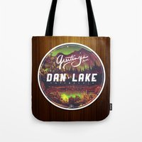 Greetings from Dan Lake CA Tote Bag