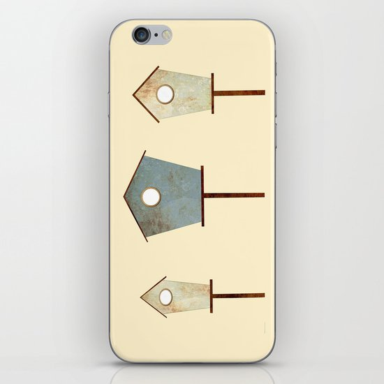 Birdy Birdhouse iPhone & iPod Skin