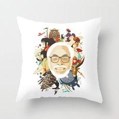 Miyazaki-San Throw Pillow