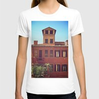 Home is where the Sun is Womens Fitted Tee White SMALL