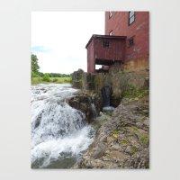 dillard mill 2016 VII Canvas Print