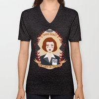 Dana Scully Unisex V-Neck