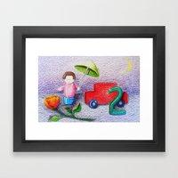 Crayon Love Toys I've St… Framed Art Print