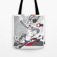 Looney 8's Tote Bag
