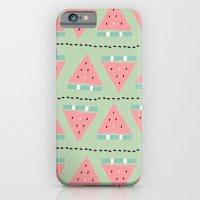 watermelon repeat iPhone 6 Slim Case