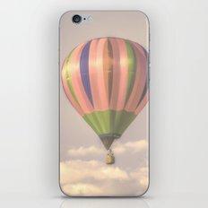Magical pink balloon iPhone & iPod Skin