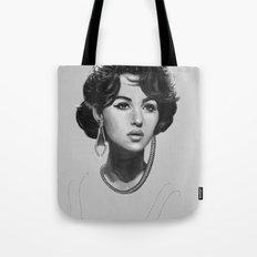Monica Bellucci Tote Bag