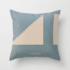 complicated Throw Pillow