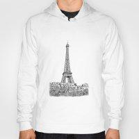 Hoody featuring Another Eiffel Tower Photo by Ewan Arnolda