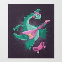 Denver The Last Dinosaur Canvas Print