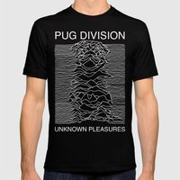 Pug Division Mens Fitted Tee Black SMALL