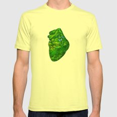 Landscape Of My Heart (4… Mens Fitted Tee Lemon SMALL